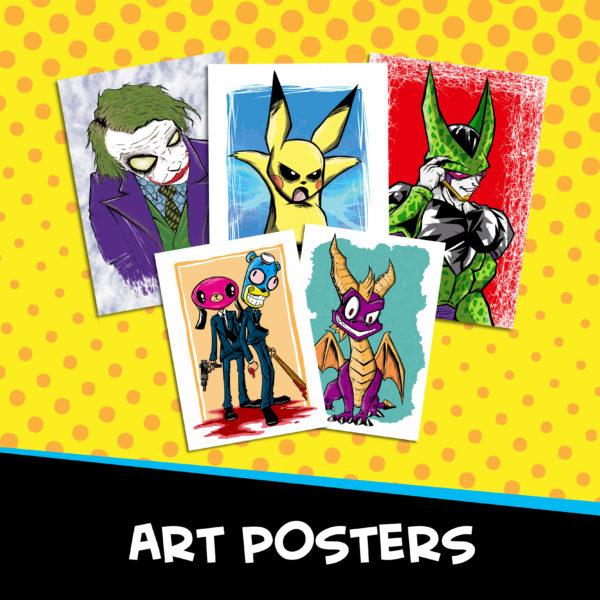 Fan Art Posters